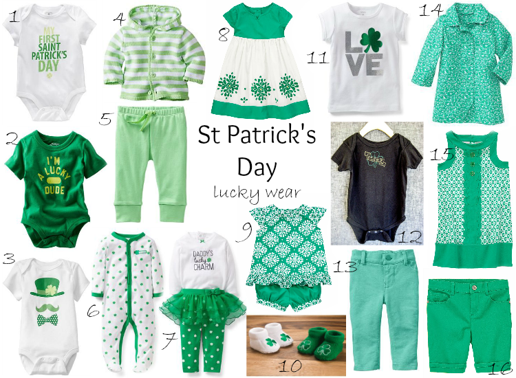 St. Patrick's Day - lucky wear