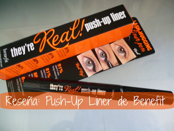 Reseña: Push-up liner de Benefit