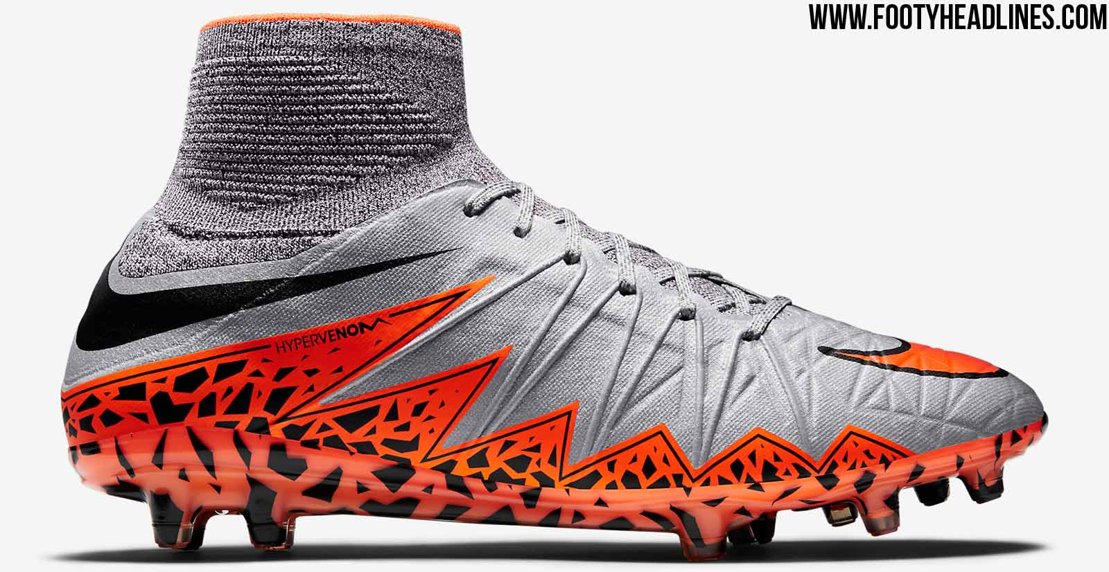 grey nike hypervenom ii 2015 boots released footy headlines. Black Bedroom Furniture Sets. Home Design Ideas