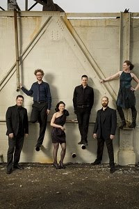 eighth blackbird: Nicholas Photinos, Tim Munro, Yvonne Lam, Matthew Duvall, Michael Maccaferri, Lisa Kaplan.