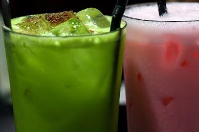 Asam Boi Limau+Apple & Sirap Bandung+Soda