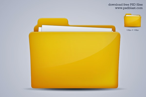 Folder Icon PSD