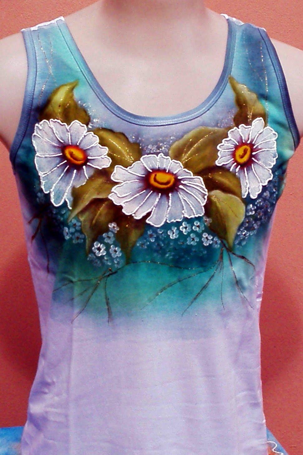 Luskidoca artesanato pintura em tecido - Pintura para camisetas ...