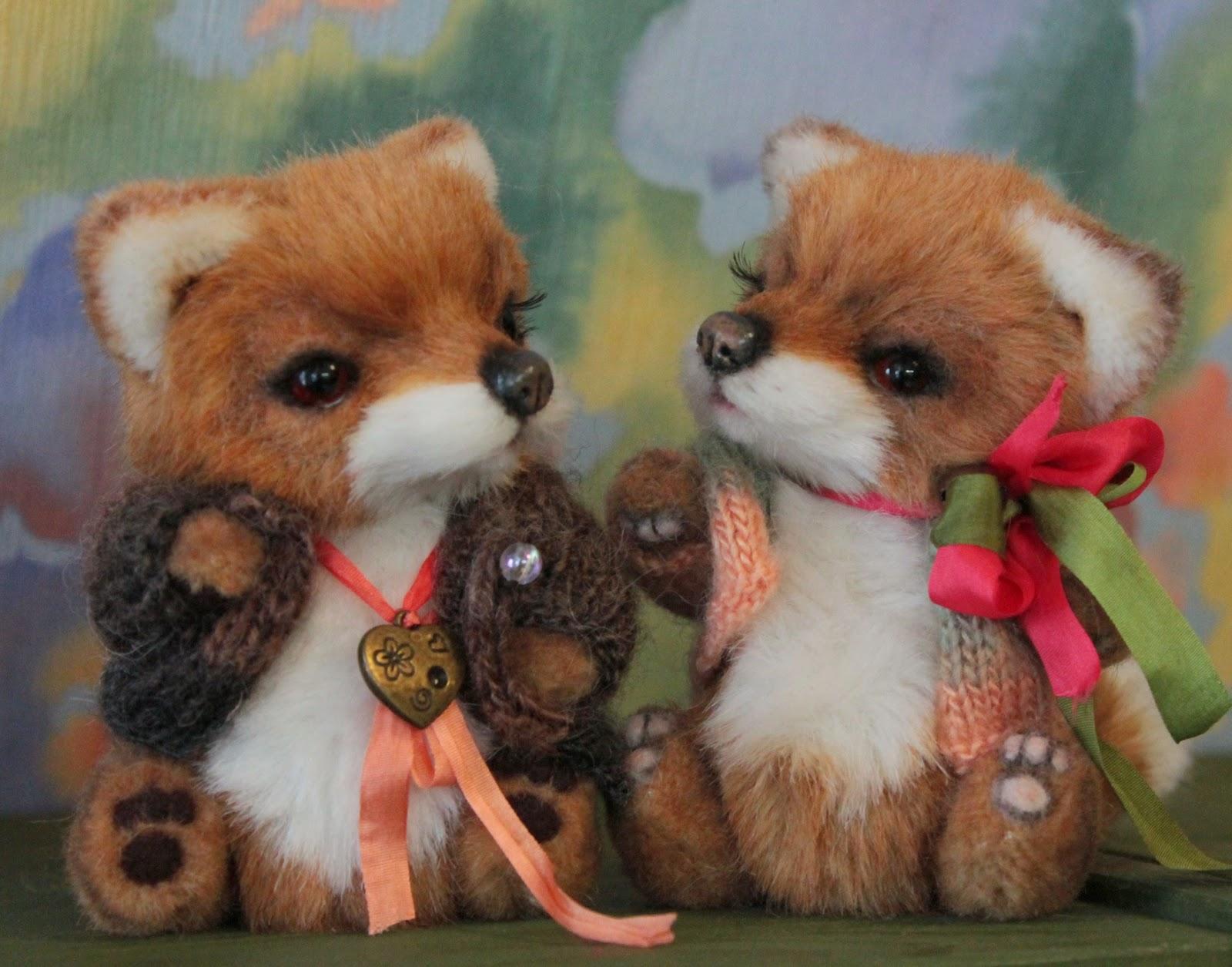 обучение в Новосибирске, курсы по мишкам Тедди, мишки Тедди, лисы, лисенок, лис