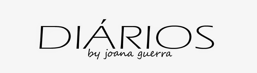 DIÁRIOS by joana guerra
