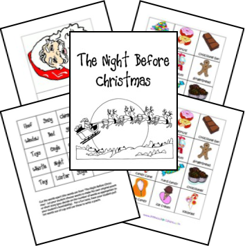Bed Rested Teacher: 24 Christmas Books and Free Activities Part 4
