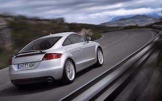 Audi TT Silver Car HD Wallpaper