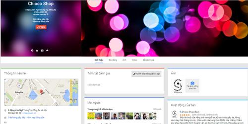 Trang Google Bussiness sau khi được xác minh