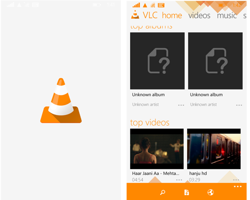 VLC Beta for Windows Phone