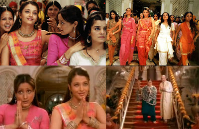 Wedding in films stills