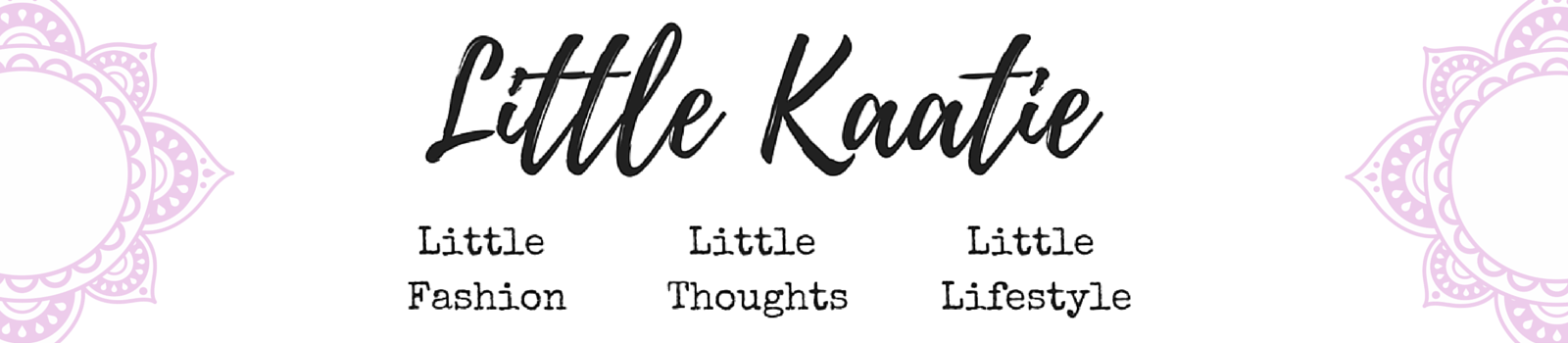 Little Katie's Little Thoughts