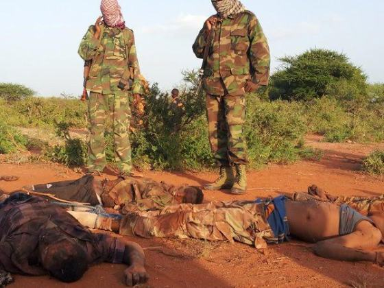 Al Shabaab terror group releases photos of Somali soldiers they killed