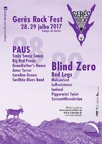 Gerês Rock Fest (28 e 29 de Julho 2017)