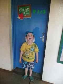 Josh's classroom door...