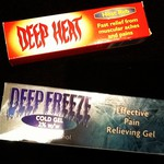 deep heat and deep freeze