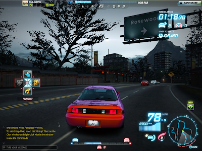 Need For Speed World - Pursuit Meter
