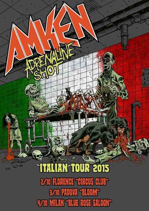AMKEN: Τον Οκτώβριο σε ιταλική περιοδεία