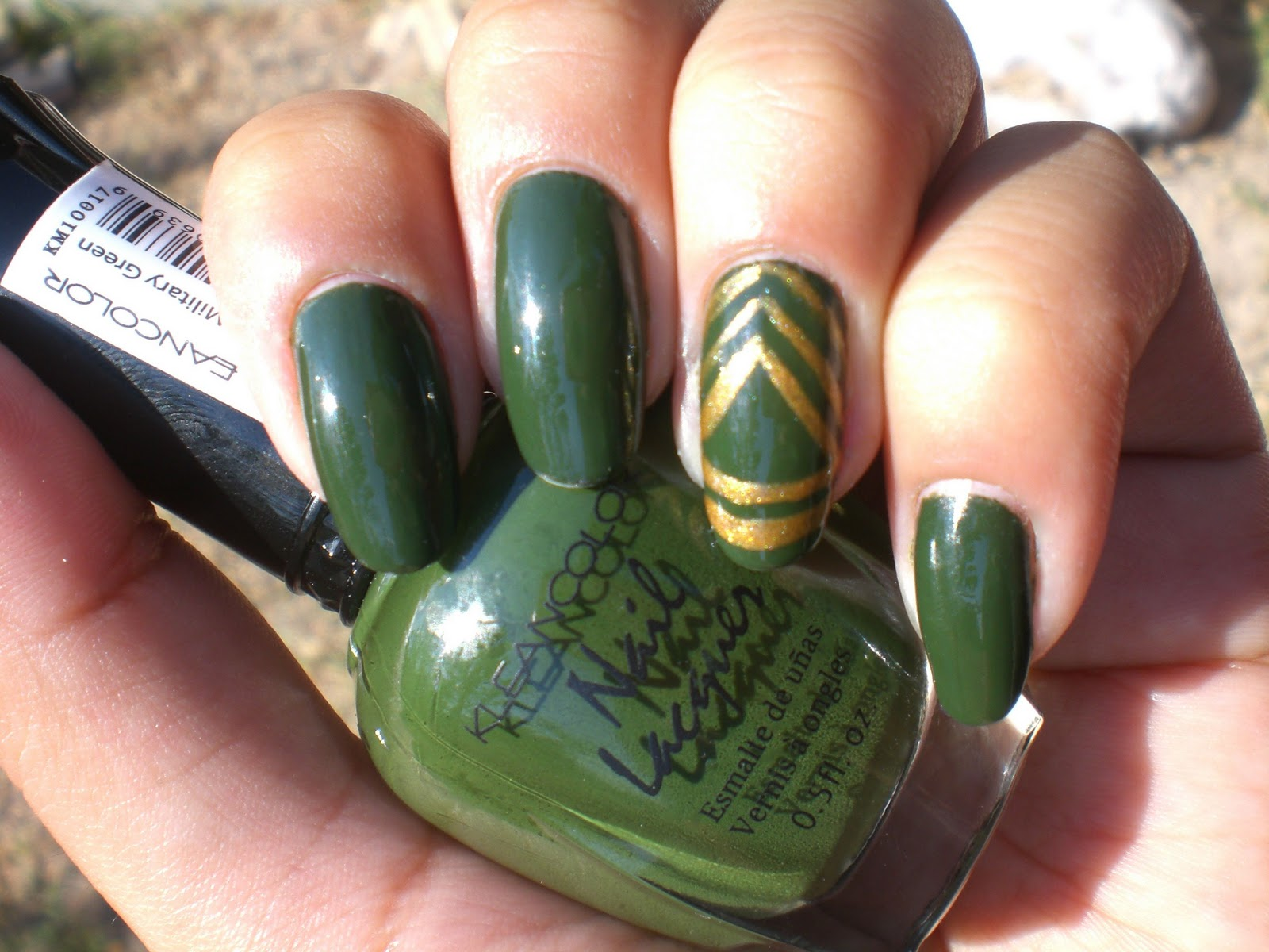 Oh Me! Oh My!: Army Nails Sergeant First Class