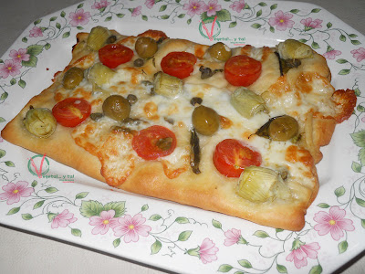 Foccacia-pizza.