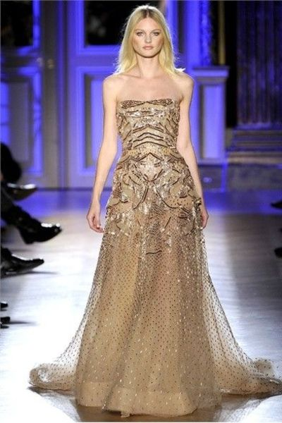 heart wedding dress gold wedding dreses from zuhair murad