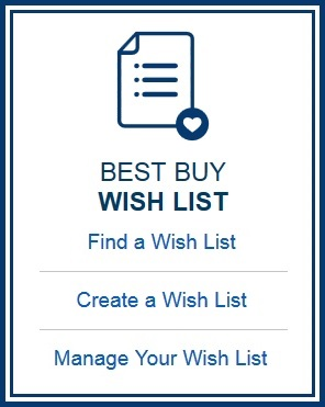 Best Buy wish list