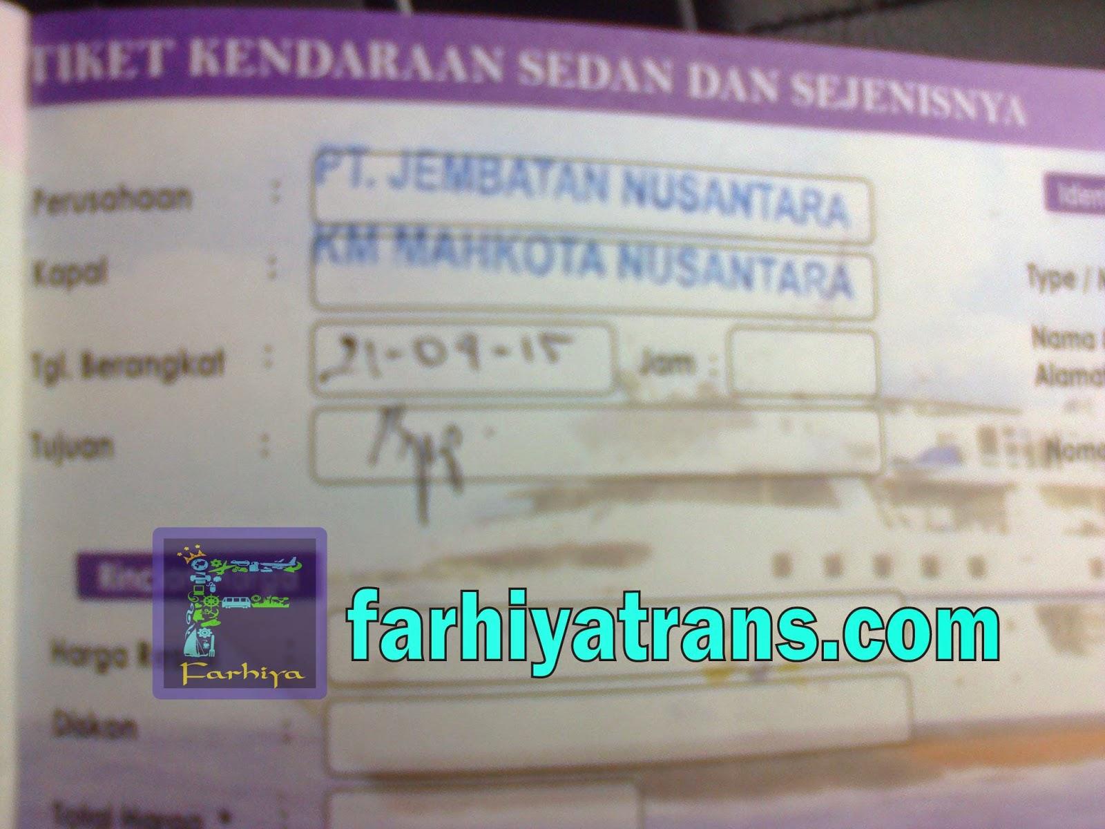 agen tiket ekspedisi kapal laut