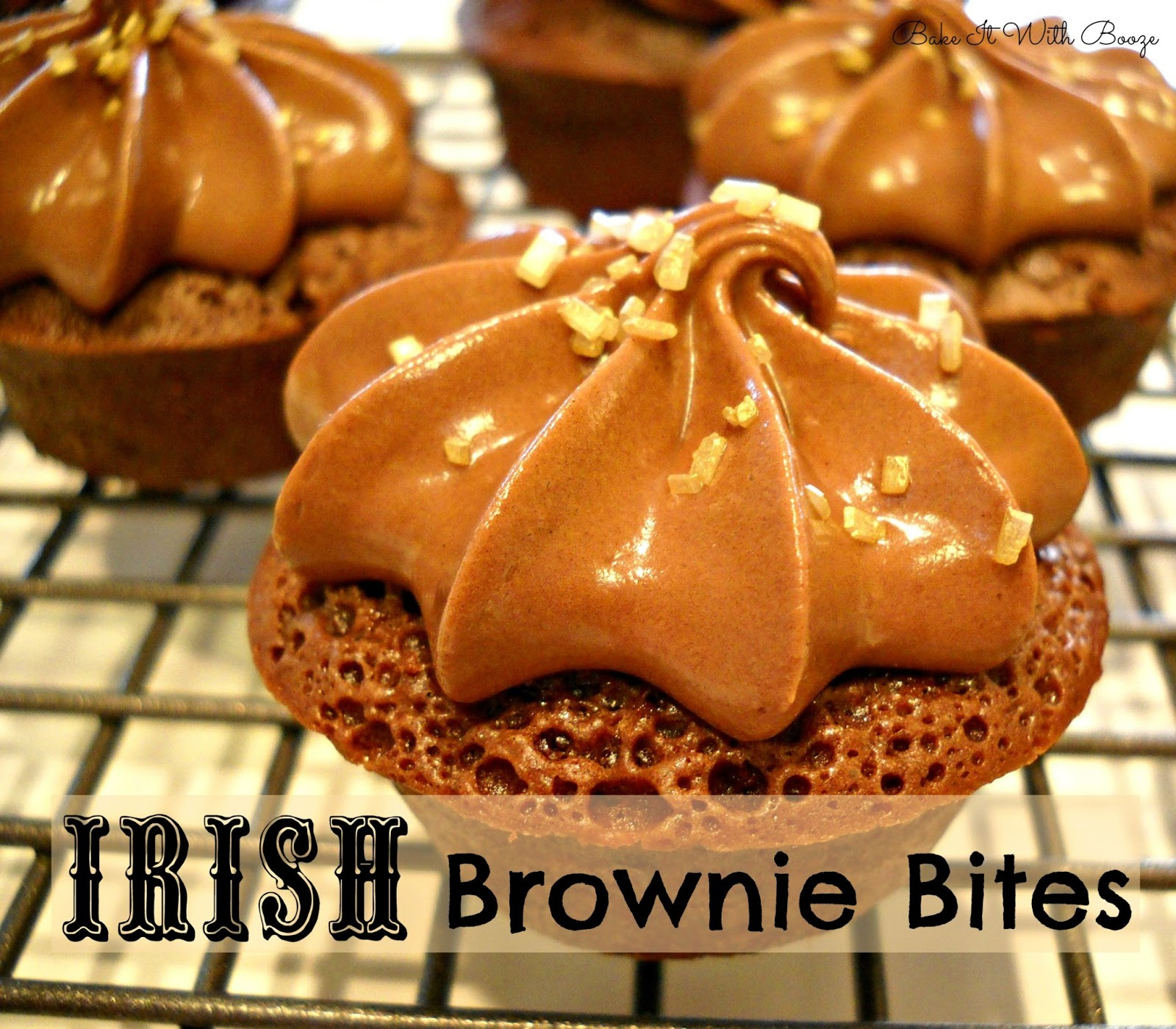 Recipe: Irish brownie bites