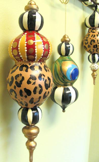 large finial diy ornament