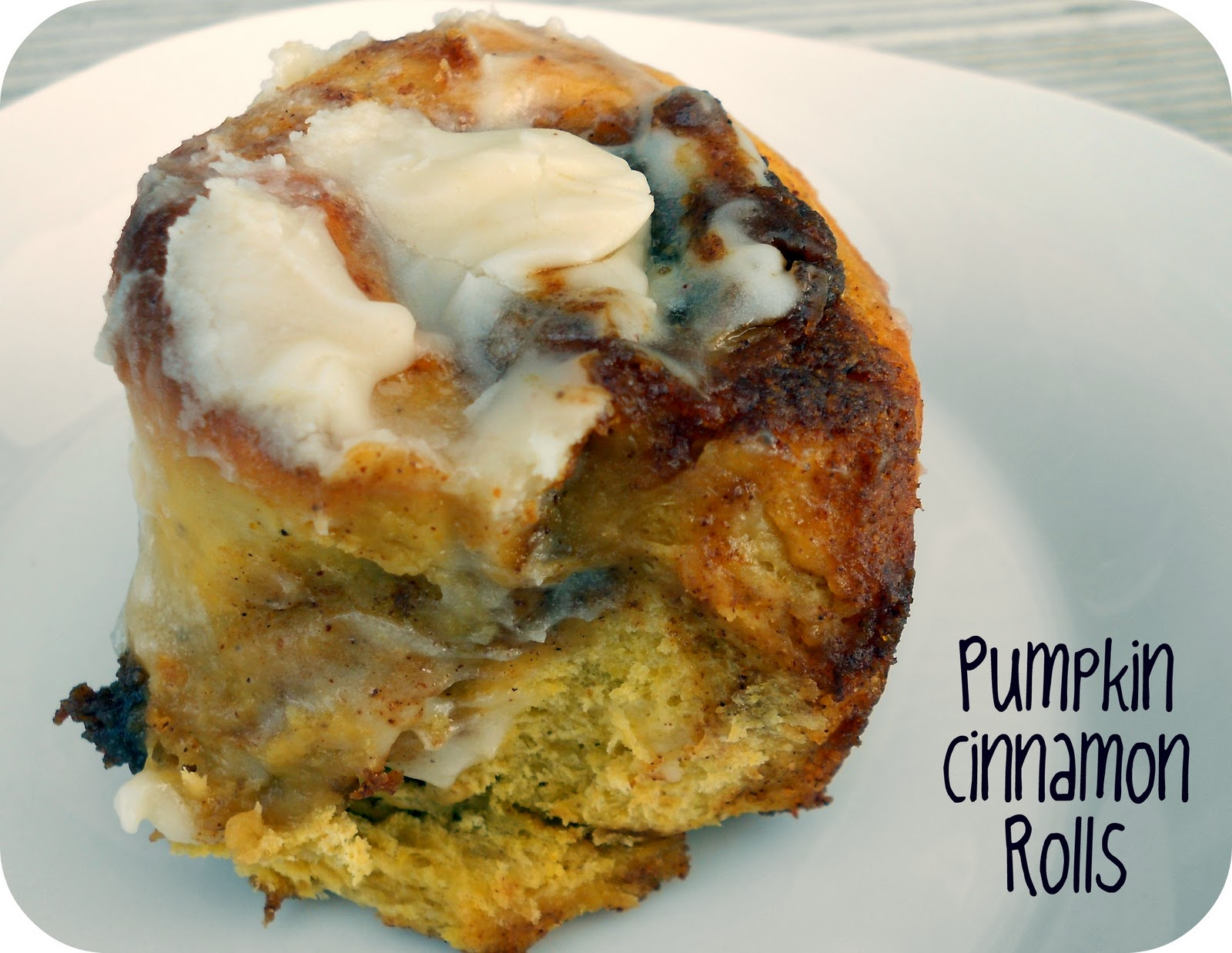 Pumpkin Cinnamon Rolls Recipe / Six Sisters' Stuff | Six ...