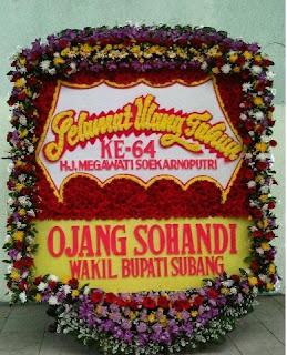 Bunga Papan Selamat Ulang Tahun Kabupaten Bandung
