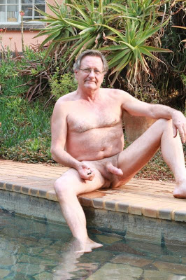 pool daddies - hairy senior
