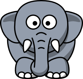 cartoon elephant Baby picture