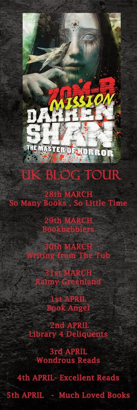 Zom-B Misson Blog Tour