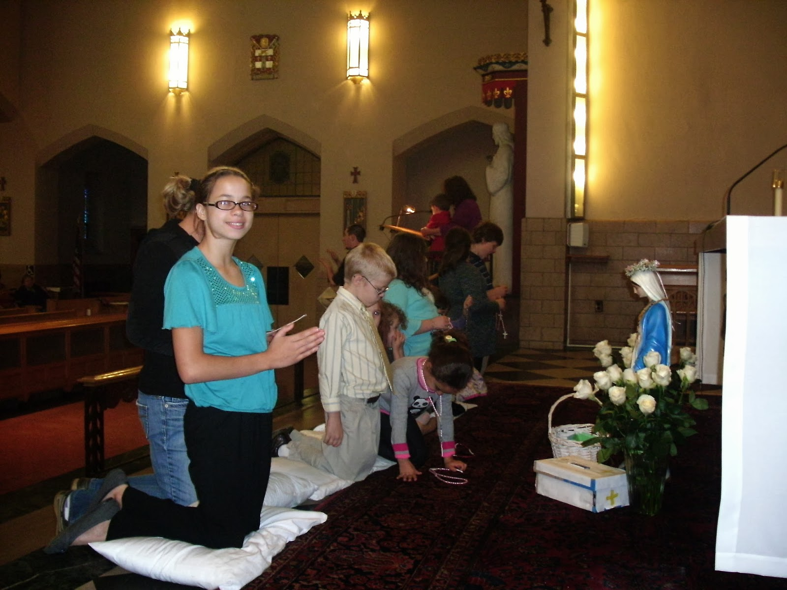 childrens rosary feast of the holy rosary