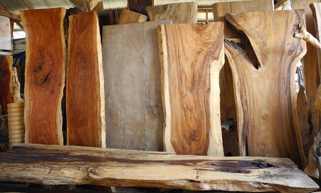 Solid Wood Furniture  Fasta Tr├д Bord  IndoGemstone