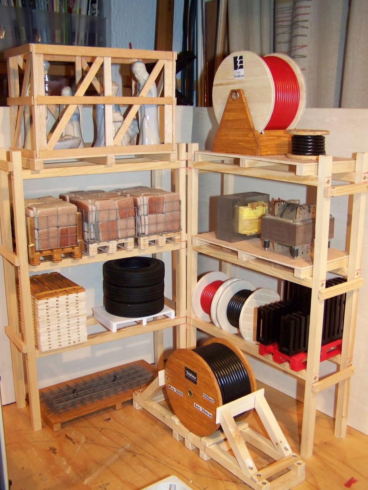 Hobby truck malaga r c estanterias para los palets - Estanterias para palets ...