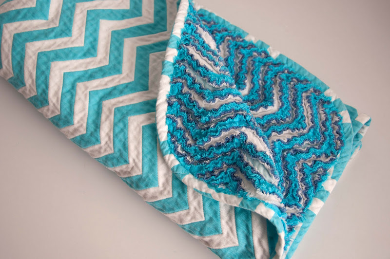 Aesthetic Nest Sewing Chevron Chenille Baby Blanket Tutorial Magnificent Patterned Blanket