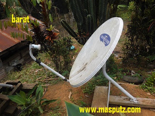Tracking Satelit Apstar 7 Ku Band dengan Dish Offset