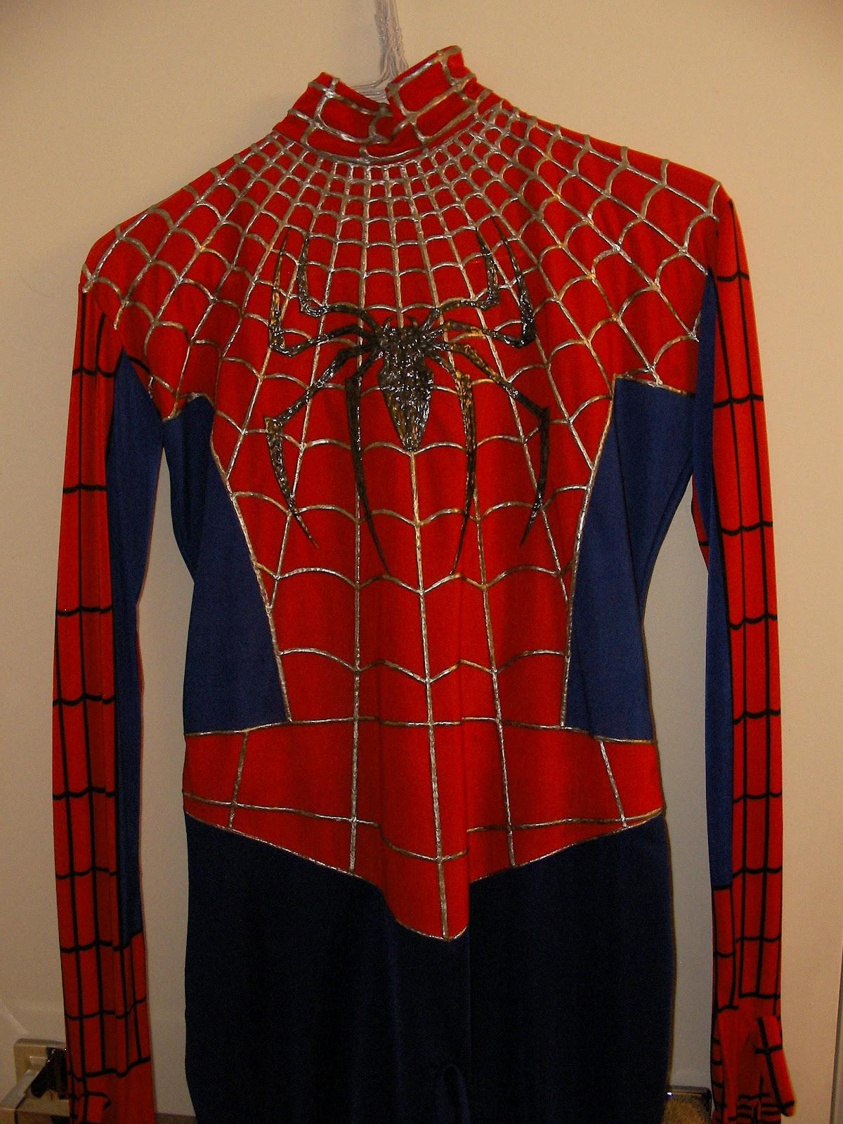 Spiderman replica costume part 2 - The torso - Hacksmith ...