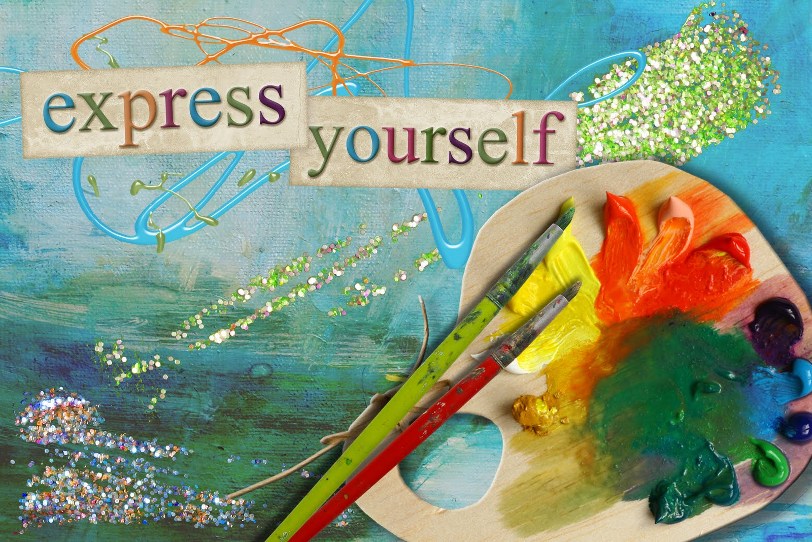 art as the freedom to express inner self Now what you've probably noticed how telling your critical inner voice to shut  up, only makes it louder  an online journey to reconnect with your authentic,  creative self using art journaling  feel the freedom to authentically express  yourself.