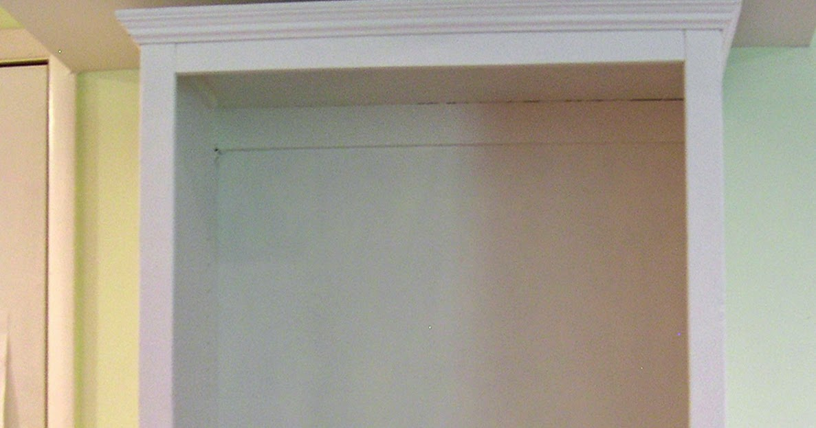 Cm Shaw Studios How To Install Cabinet Doors On An Armoire Or Bookcase