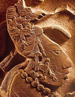 Hombre de la Cultura Maya