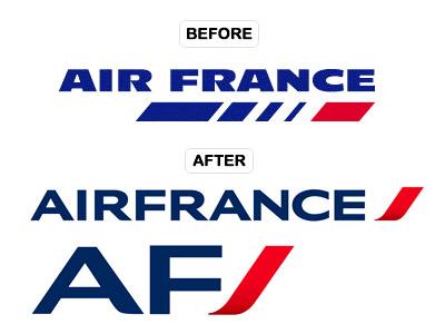 Air France Logos