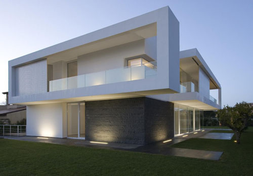 Casas minimalistas y modernas accesos a casas minimalistas for Casas premoldeadas minimalistas