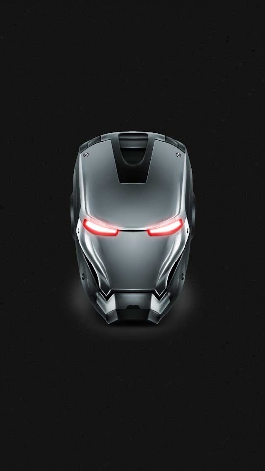 Iron Man Gray Steel Helmet  Galaxy Note HD Wallpaper