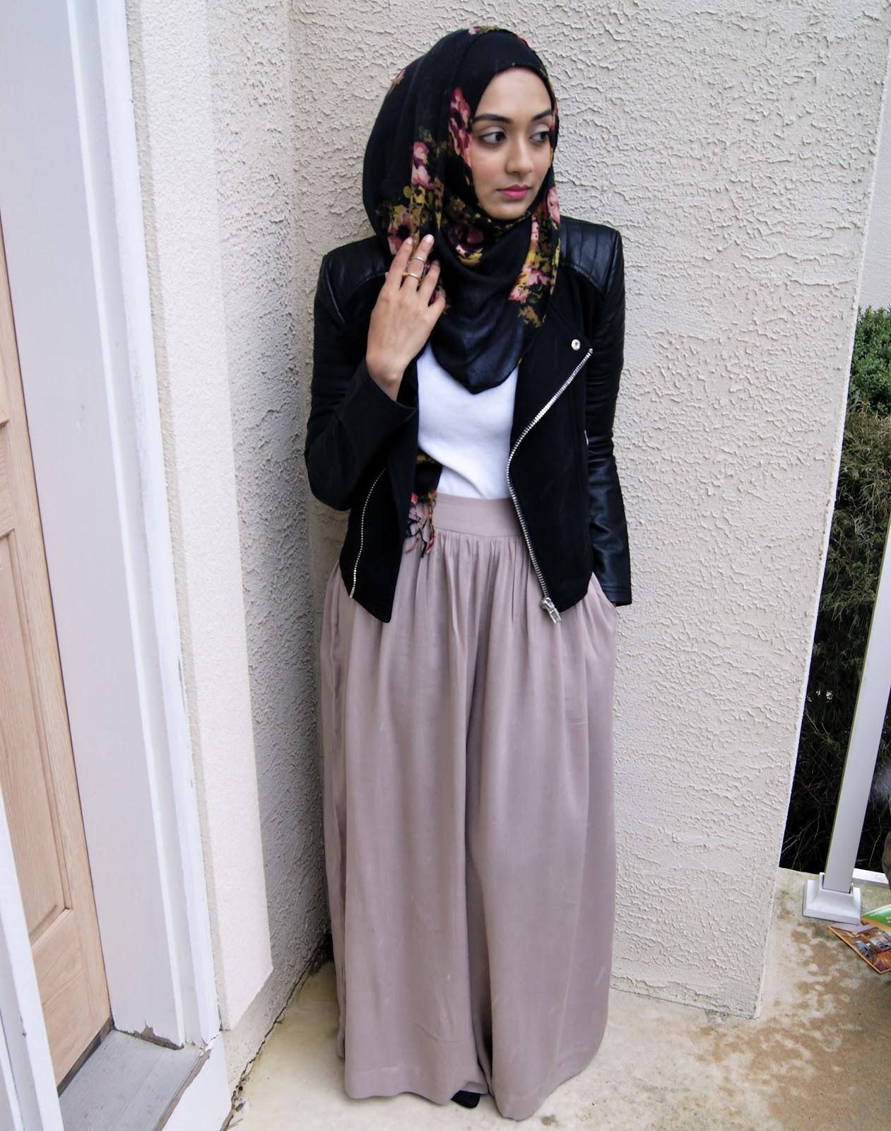 Simply Covered: Hot Hijabi: Palazzo Pants Ed.