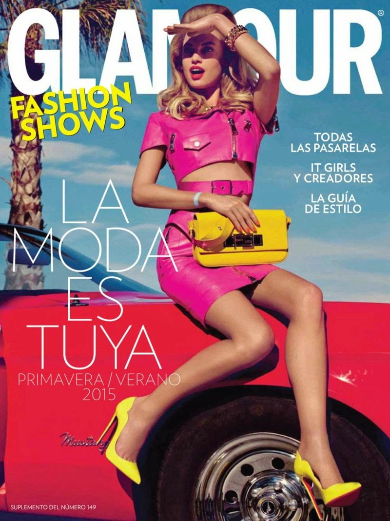 Model: Nora Ponse - Glamour Spain, March 2015