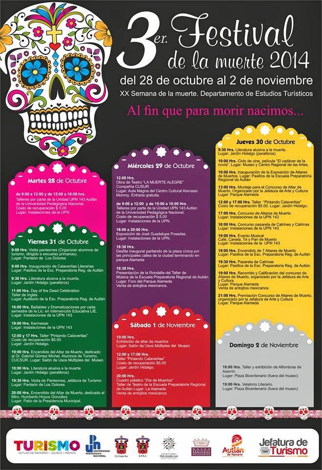 Programa del Festival de la Muerte 2014