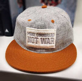 "Billy Reid's ""Make Cornbread Not War"" Southern Foodways Alliance trucker cap!"