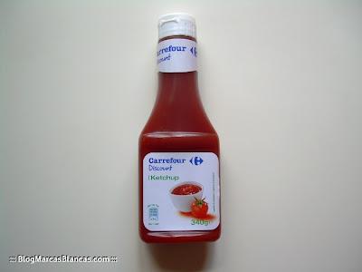 Ketchup Carrefour Discount (BlogMarcasBlancas.com)